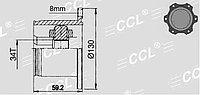 ШРУСы(граната) VW AD-502 Golf III (2.0 16V 2.8) A4, 1,8/2,0, Passat B5 AT 1991-1997 внутренний правый и левый