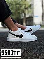 Кеды Nike Jordan низк  бел чер лого, фото 1