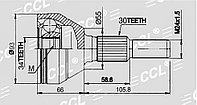 ШРУСы(граната) Chevrolet GM-039 Captiva (C100) 2011- наружный правый и левый