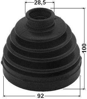 Пыльник Пыльник гранат C9741-EB31B Pathfinde R51 4,0 USA 2004-2011 внутренний