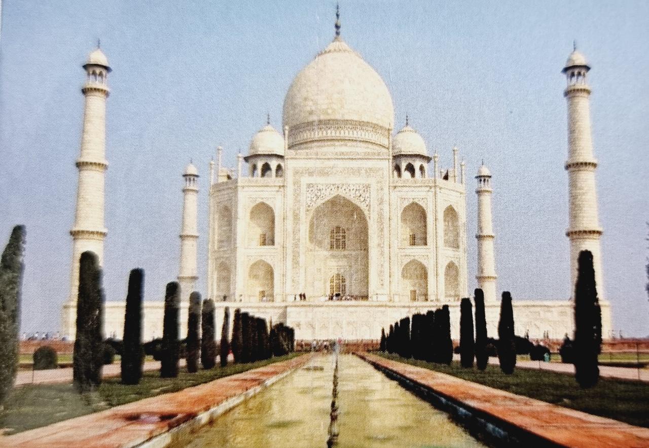 Магнит Тадж Махал Taj Mahal (код 0474)