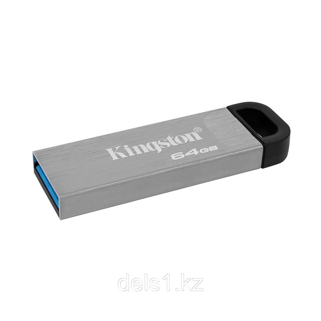USB-накопитель Kingston DTKN/64GB 64GB Серебристый