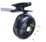 Мини-вентилятор Mini Fan с аккумулятором на прищепке для авто и дома., фото 4