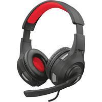 Наушники гарнитура игровая Trust GXT307 Ravu черный + красный