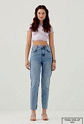 Джинсы женские  Pantamo Mom jeans голубые