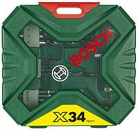 Классический набор сверл и бит X-Line-34 2607010608
