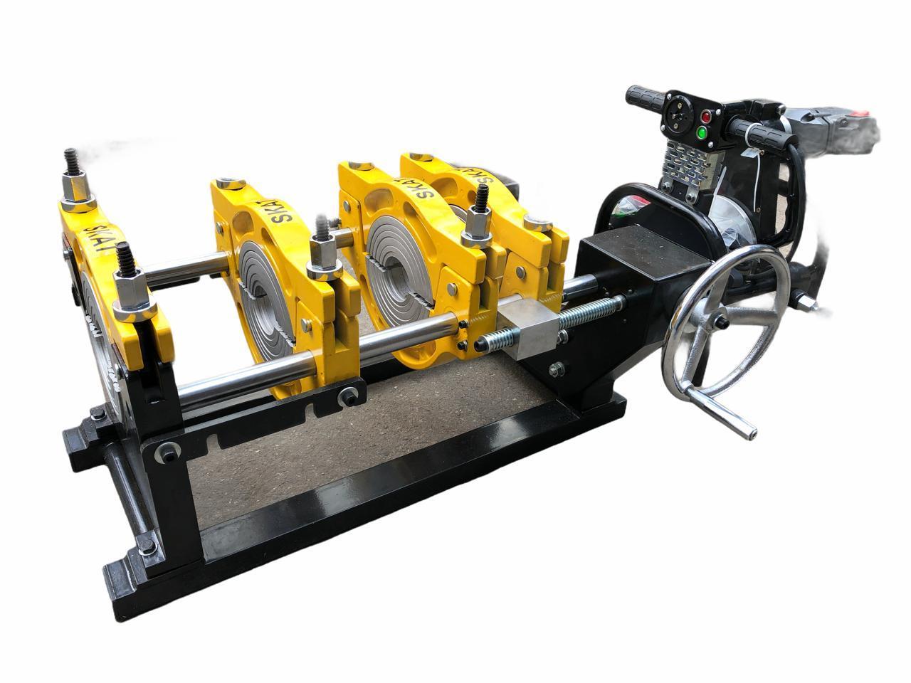 SKAT 63-200мм Редукторный механический сварочный аппарат  для стыковой пайки ПВХ труб