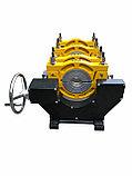 SKAT 63-200мм Редукторный механический сварочный аппарат  для стыковой пайки ПВХ труб, фото 9
