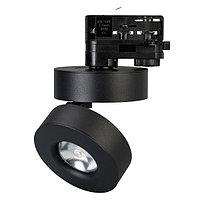 Светильник LGD-MONA-TRACK-4TR-R100-12W White5000 (BK, 24 deg) (arlight, IP40 Металл, 3 года)