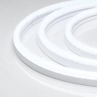 Гибкий неон ARL-CF2835-U15M20-24V White (26x15mm) (arlight, 8 Вт/м, IP65)