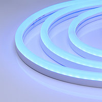 Гибкий неон ARL-CF2835-U15M20-24V Blue (26x15mm) (arlight, 8 Вт/м, IP65)