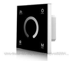 Панель SMART-P4-DIM-G-IN Black (12-24V, 4x3A, Sens, 2.4G) (arlight, IP20 Пластик, 5 лет)