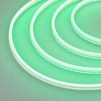Гибкий неон GALAXY-1206-5000CFS-2835-100 12V Green (12x6mm, 12W, IP67) (arlight, 12 Вт/м, IP67)