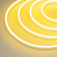Гибкий неон GALAXY-1206-5000CFS-2835-100 12V Lemon (12x6mm, 12W, IP67) (arlight, 12 Вт/м, IP67)