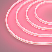 Гибкий неон GALAXY-1206-5000CFS-2835-100 12V Pink (12x6mm, 12W, IP67) (arlight, 12 Вт/м, IP67)