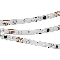 Светодиодная лента SPI-5000SE-5060-30 12V Cx3 RGB-Auto (10mm, 6.5W/m, IP65) (arlight, Закрытый, IP65)