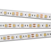 Светодиодная лента RTW 2-5000P 12V White6000 2x (5060, 300 LED, LUX) (Arlight, 14.4 Вт/м, IP66)