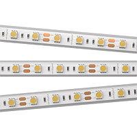 Светодиодная лента RTW 2-5000PS 12V Warm3000 2x (5060, 300 LED, LUX) (arlight, 14.4 Вт/м, IP67)