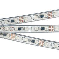 Светодиодная лента SPI-5000PGS-5060-60 12V Cx3 RGB-Auto (12mm, 13.2W/m, IP67) (arlight, Закрытый, IP67)
