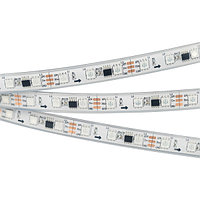Светодиодная лента SPI-5000PGS-5060-60 12V Cx3 RGB (12mm, 14.4W, IP67) (arlight, Закрытый, IP67)