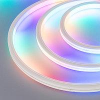 Герметичная лента DMX MOONLIGHT-5000S-TOP-5060-84-24V RGB (13х12mm, 18W, IP67) (arlight, 18 Вт/м, IP67)