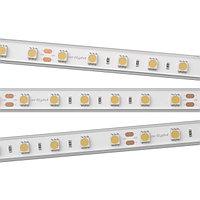 Светодиодная лента RTW 2-5000P 24V White6000 2x (5060, 300 LED, LUX) (arlight, 14.4 Вт/м, IP66)