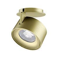 Модуль светодиодный PLURIO-LAMP-R77-9W Warm3000 (A-BRS, 36 deg, 2-2, 38V, 200mA) (arlight, Металл)