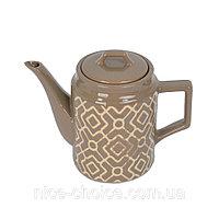 Фарфоровый заварочный чайник 1 л