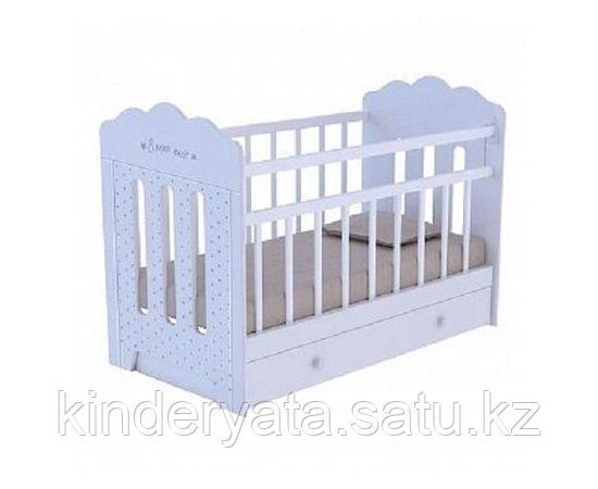 Детская кроватка ВДК Bonne с маятником с ящиком