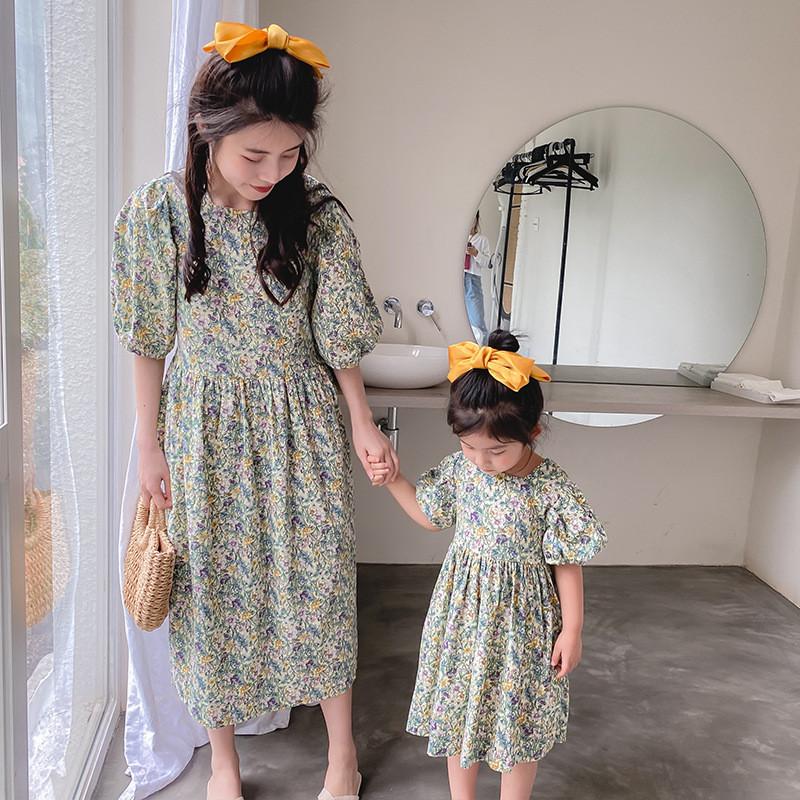 Стильные платья для мамы и дочки (цена указана за женское платье)
