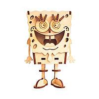 3D Конструктор - модель Спанч Боб