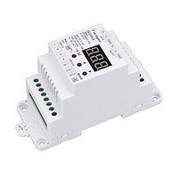 Декодер SMART-K23-DMX512-DIN (12-24V, 3x6A) (arlight, IP20 Пластик, 5 лет)