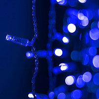 Светодиодная гирлянда ARD-CURTAIN-CLASSIC-2000x3000-CLEAR-760LED Blue (230V, 60W) (Ardecoled, IP65)
