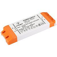 Блок питания ARV-SL12060 (12V, 5A, 60W, PFC) (Arlight, IP20 Пластик, 3 года)
