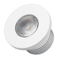 Светодиодный светильник LTM-R35WH 1W White 30deg (arlight, IP40 Металл, 3 года)