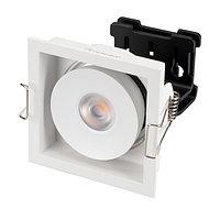 Светильник CL-SIMPLE-S80x80-9W Warm3000 (WH, 45 deg) (arlight, IP20 Металл, 3 года)