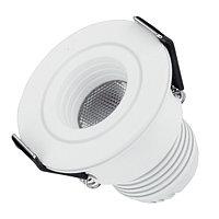Светодиодный светильник LTM-R45WH 3W White 30deg (arlight, IP40 Металл, 3 года)
