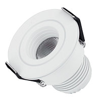 Светодиодный светильник LTM-R45WH 3W Day White 30deg (arlight, IP40 Металл, 3 года)