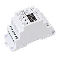 Диммер SMART-D19-DIM-PUSH-DIN (230V, 2A, TRIAC, 2.4G) (arlight, IP20 Пластик, 5 лет)