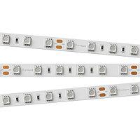 Светодиодная лента RT 2-5000 24V Blue 2x (5060, 300 LED, LUX) (arlight, 14.4 Вт/м, IP20)