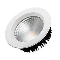 Светодиодный светильник LTD-145WH-FROST-16W Day White 110deg (arlight, IP44 Металл, 3 года)