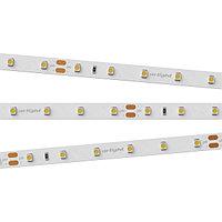 Светодиодная лента RT 2-5000 24V White6000 (3528, 300 LED, LUX) (arlight, 4.8 Вт/м, IP20)