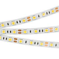 Светодиодная лента RT2-5050-60-12V Warm White (300 LED) (NormaLED, 14.4 Вт/м, IP20)