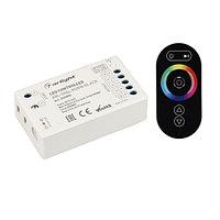 Контроллер ARL-OVAL-RGBW Black (5-24V, 4x4A, ПДУ Овал, RF) (arlight, IP20 Пластик, 3 года)