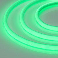 Светодиодная лента RTW-5000PWT 24V Green 13mm (2835, 180 LED/m, High Temp) (arlight, 14.4 Вт/м, IP68)