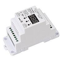 Конвертер SMART-K29-DMX512 (230V, 1x2A, TRIAC, DIN) (arlight, IP20 Пластик, 5 лет)