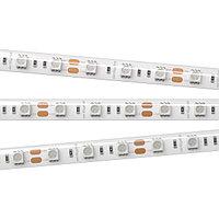 Светодиодная лента RTW 2-5000SE 12V Green 2x (5060, 300 LED, LUX) (Arlight, 14.4 Вт/м, IP65)