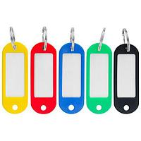 Брелок для ключей OfficeSpace, 2*6 см, пластик, цвет ассорти