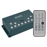 Контроллер DMX-Q02A (USB, 512 каналов, ПДУ 18кн) (arlight, IP20 Металл, 1 год)