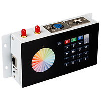 Контроллер DMX SR-2816WI Black (12V, WiFi, 8 зон) (arlight, IP20 Металл, 3 года)